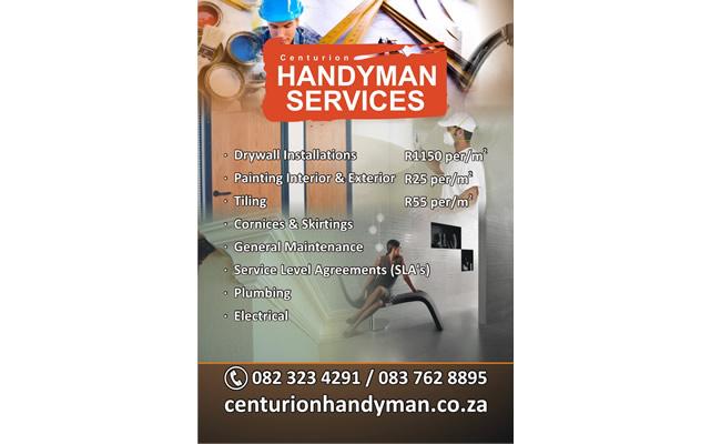 Centurion Handyman Services Web Devine Design Company Flyer Ideas