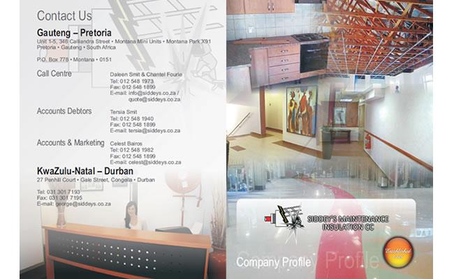 Corporate Company Profile Design