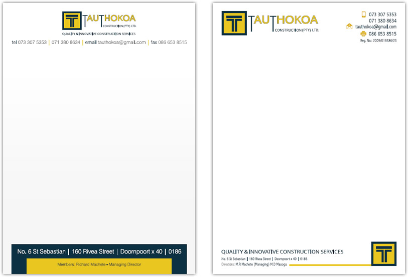 Construction company letterhead template aradio construction company letterhead template spiritdancerdesigns Choice Image