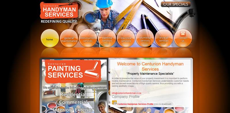 Centurion Handyman Services - Web Design Company Pretoria