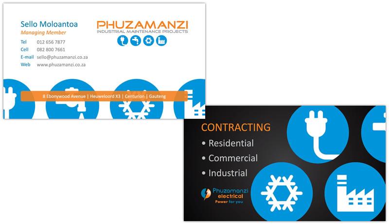 phuzamanzi industrial maintenance projects web devine web design