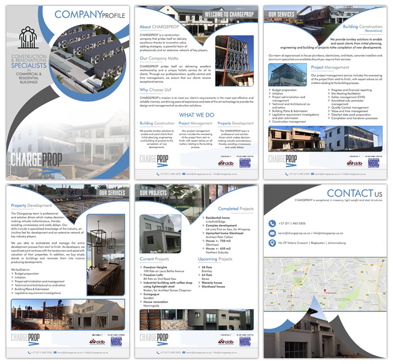 Chargeprop - Web Design Company Pretoria and Cape Town   Since 2003